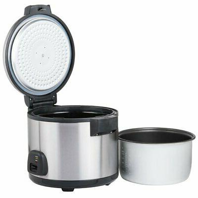 Commercial 60 Electric Rice Cooker Steel