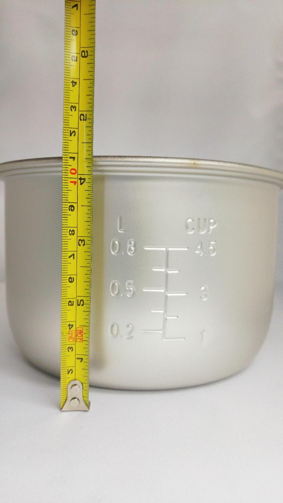 """Tayama Cooking for 4.5 Rice Cooker Height 3/8"""" 7"""