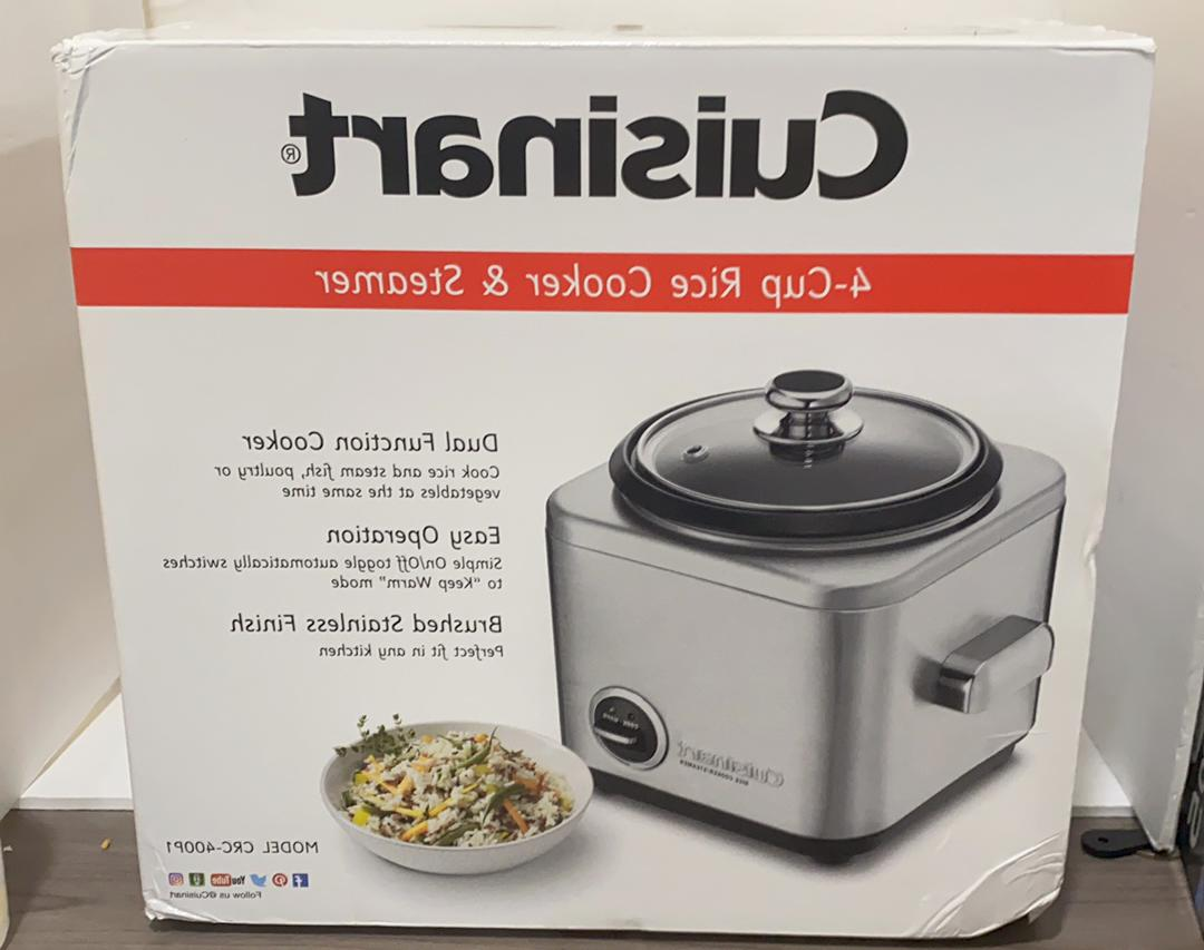 crc 400p1 rice cooker 4 cup silver