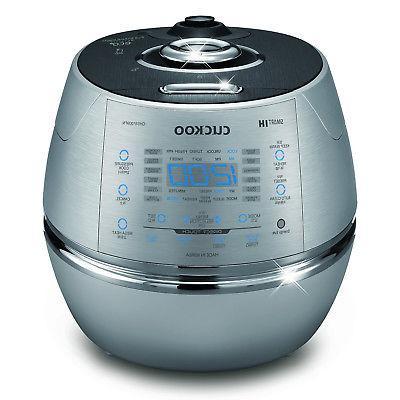 Cuckoo CRP-CHSS1009FN 10-Cup Pressure Rice Cooker, 110V, Met