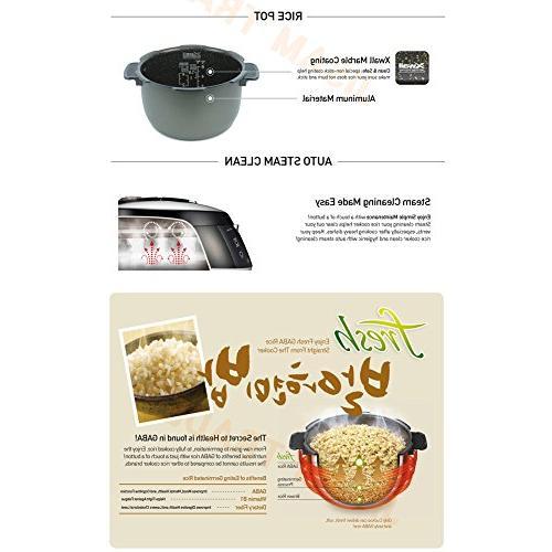 Cuckoo CRP-N0610FP Rice 6 Cups 220V & KEY RING