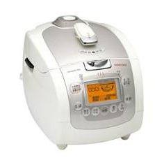 Cuckoo IH Electric Pressure Rice Cooker CRP-HF0610F  - Ivory