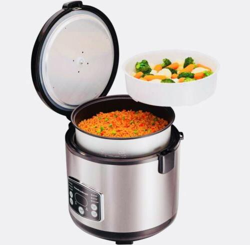 Hamilton Simplicity 14-cup Rice And Steamer