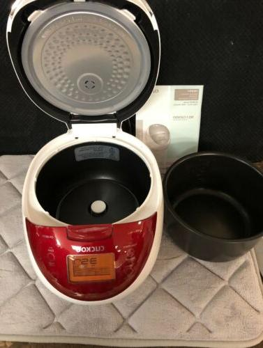 Cuckoo Electric 6-Cup / 1.08L Rice Cooker Warmer Well Being Cooker