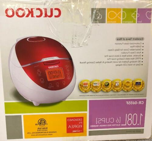 Cuckoo 1.08L Rice Cooker Warmer CR-0655F / Being