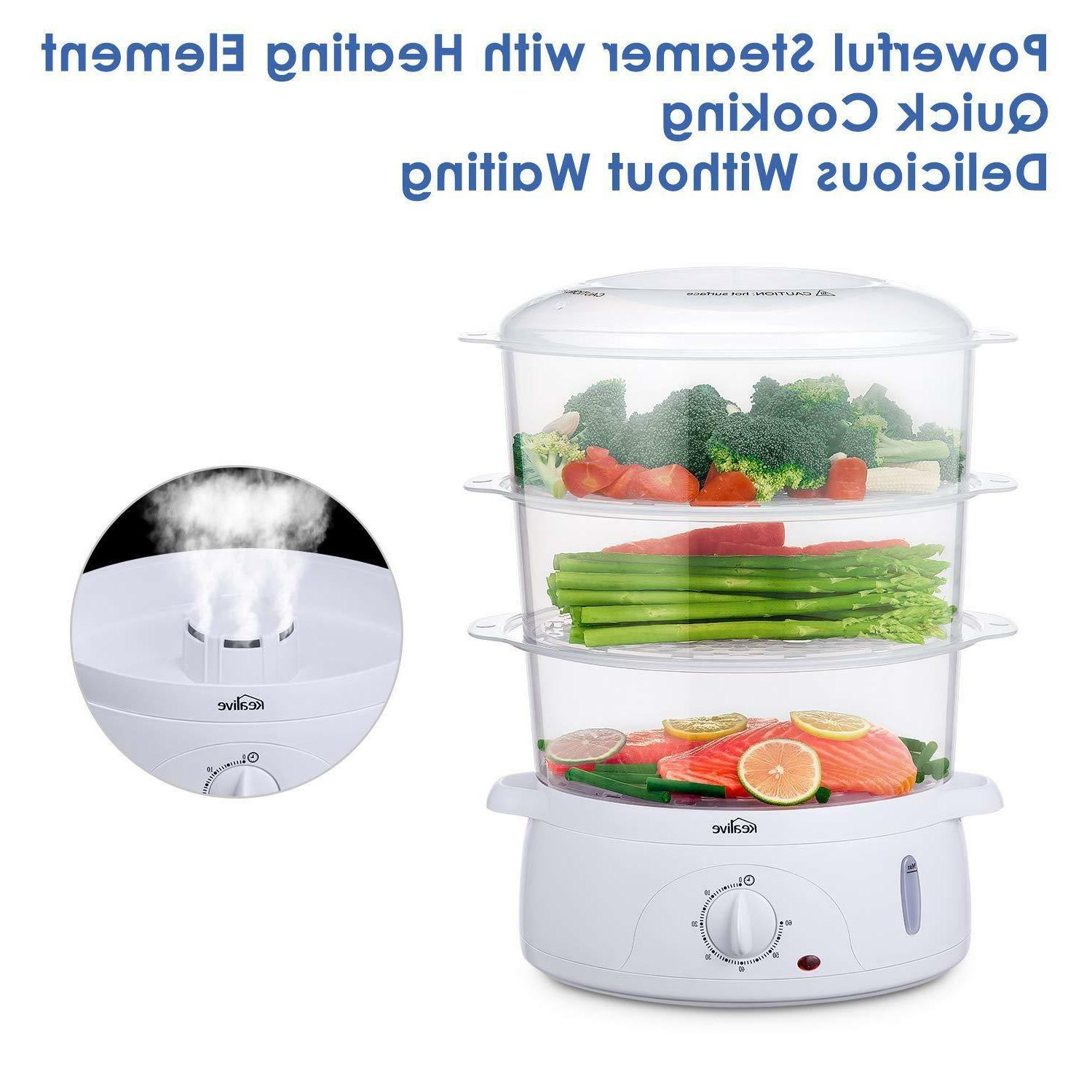 Electric Food Steamer Meat Steaming Bowl Cooking