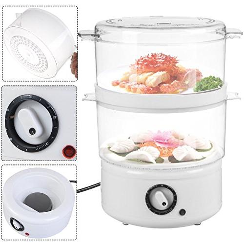 electric kitchen food steamer bowl