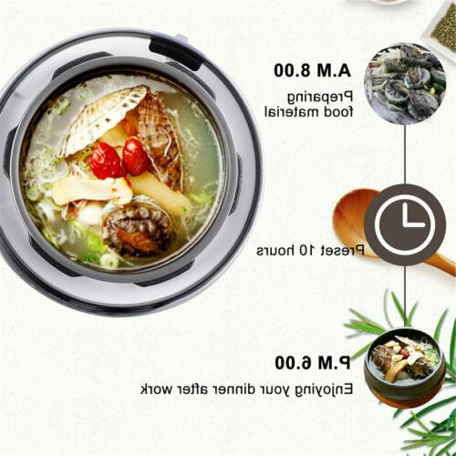 Electric Multi-Functional Pressure Cooker Rice Cooker 4.2Qt
