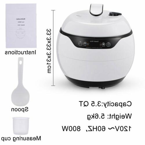 Electric Multi-Functional Cooker Rice Cooker Appliances 4.2Qt