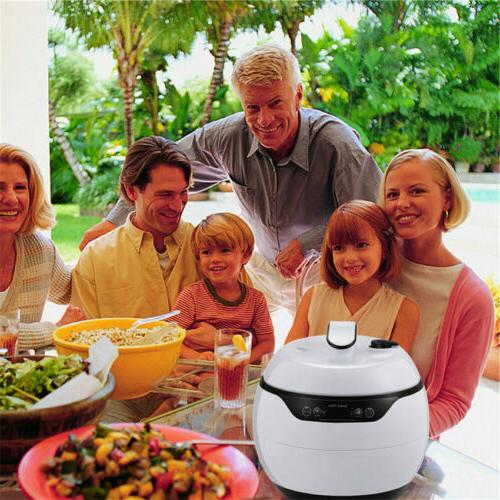 Electric Pressure Rice Cooker 4.2Qt