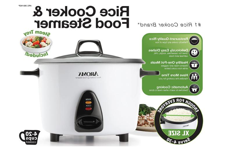 Electric Rice Steamer 20 Cup MultiFunctional Stainless