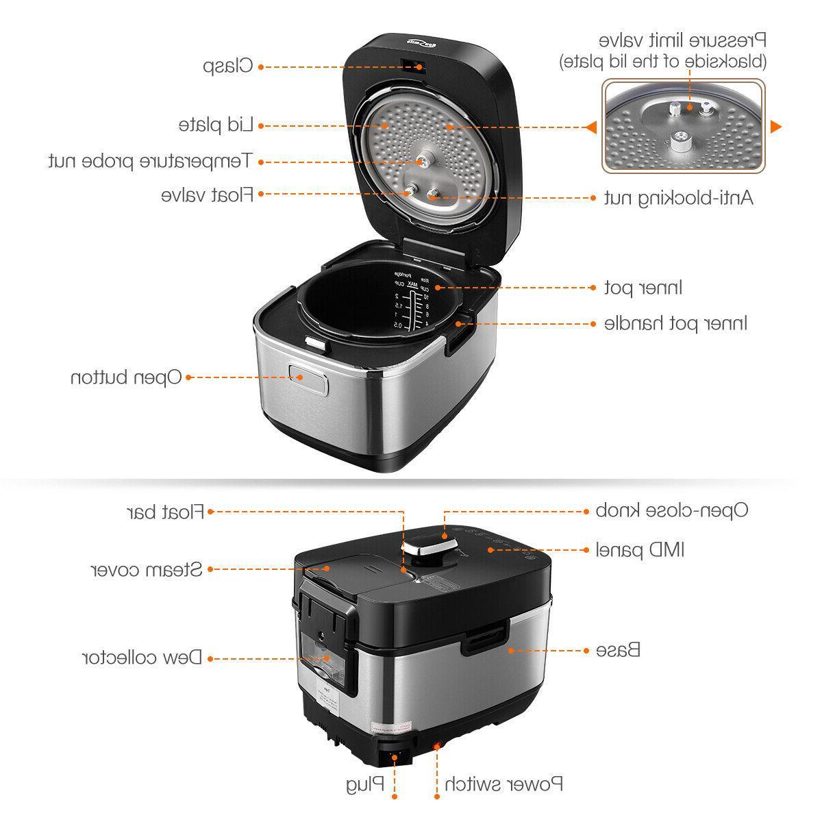 Housmile Electronics Smart Pressure 1000w
