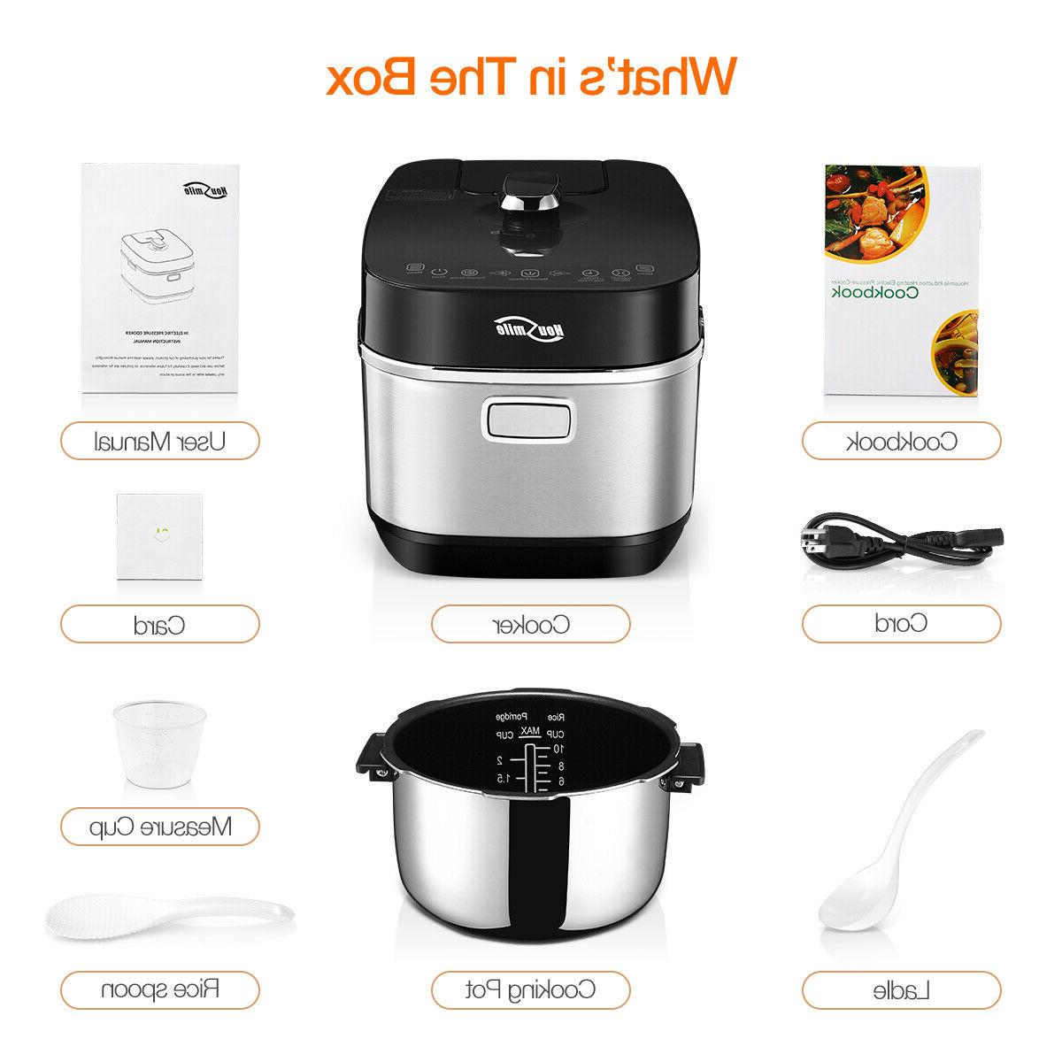Housmile Electronics Pressure Cooker 1000w