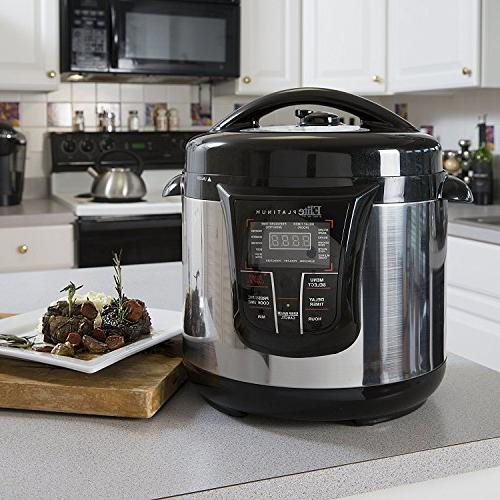Maxi-Matic EPC-808SS Elite Platinum 8Qt  Electric Stainless Steel