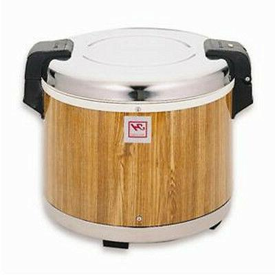 Thunder Group Gas & Electric Units, Wood Grain 30 Cups Rice