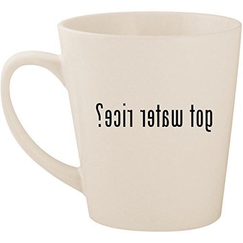 got water rice ceramic latte