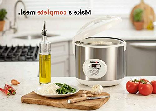 For Grains and Hot Cereal - - Digital Keep - Timer 650W