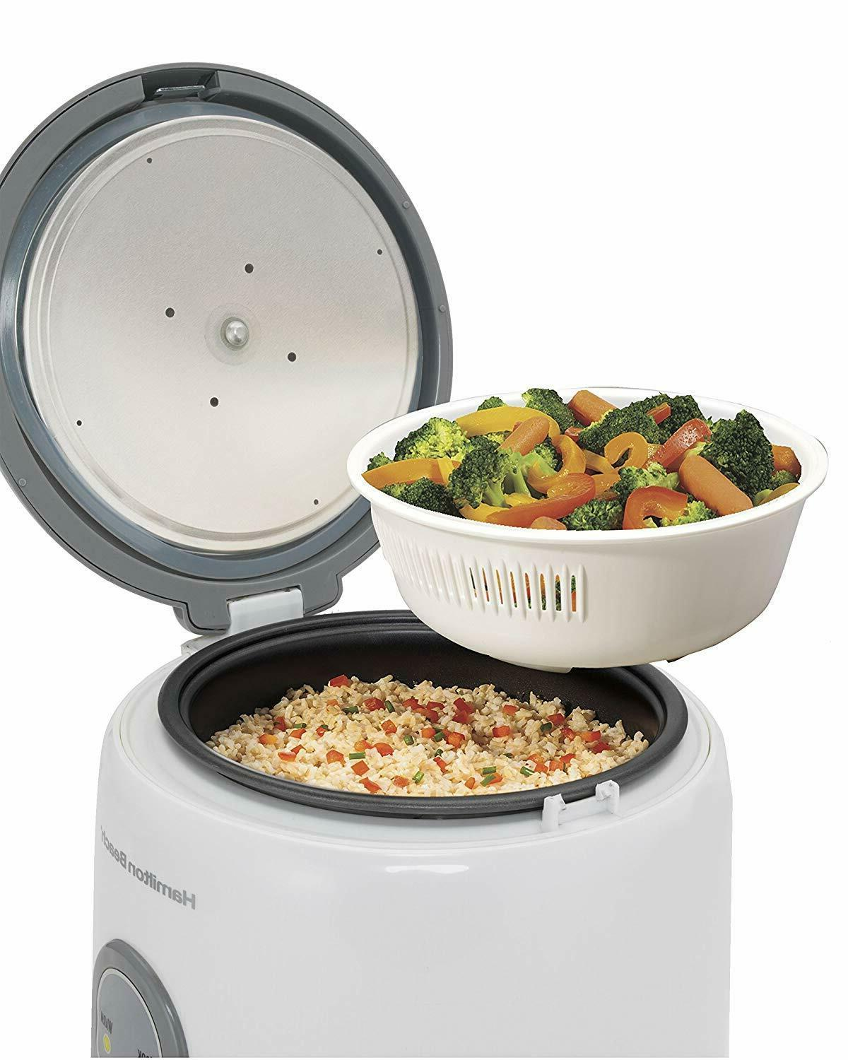 Hamilton Rice Cooker with Cups