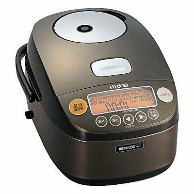 ZOJIRUSHI IH Pressure Rice Cooker Iron Coat 5.5 cup NP-BE10