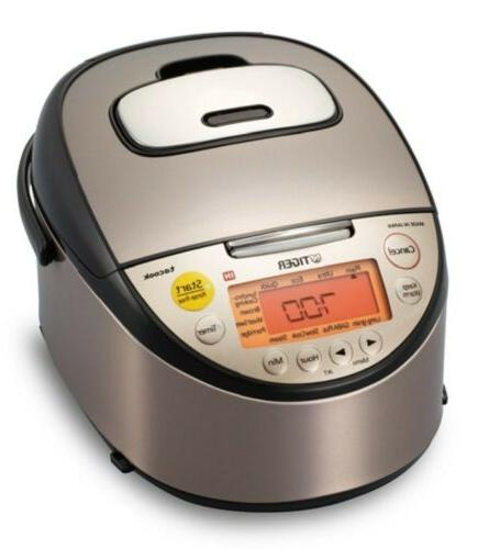 TIGER IH Rice Cooker JKT-S10A Clay Pot Induction Heating Jap
