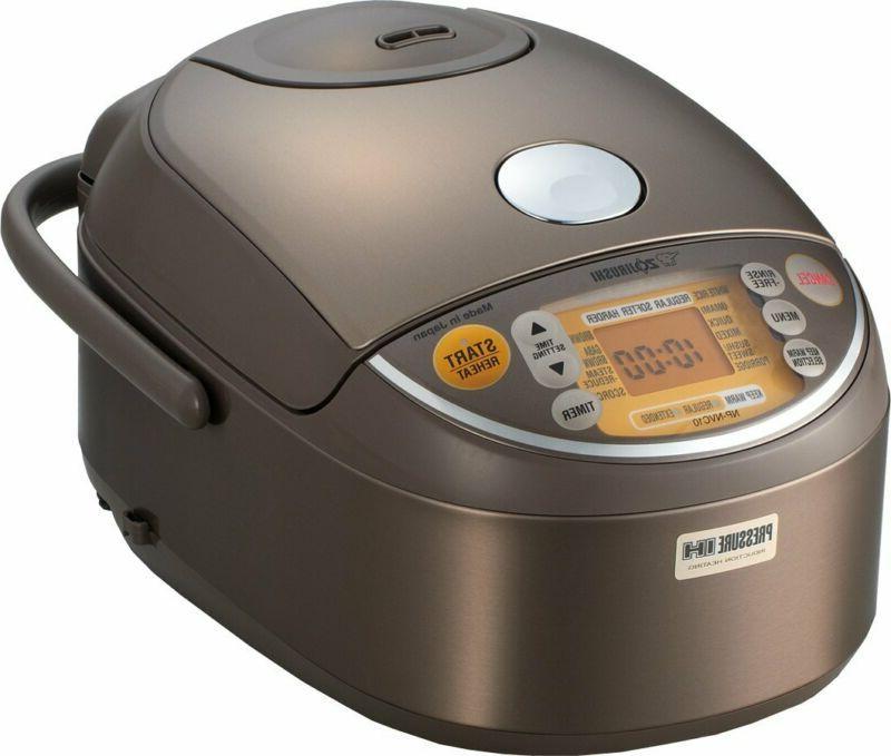 Zojirushi Induction Heating Pressure Rice Cooker  Warmer 1.0