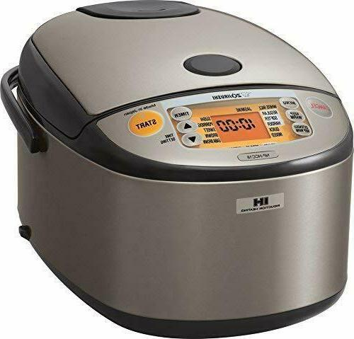 Zojirushi NP-HCC18XH Induction Heating System Rice Cooker an
