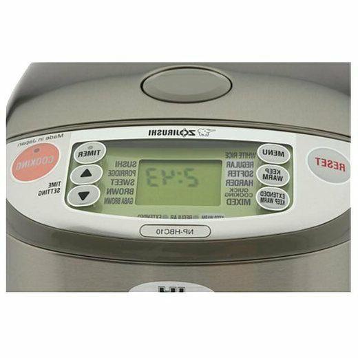 Zojirushi Induction Heating System Rice Warmer, NP-HBC10,