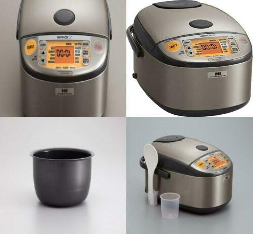 Induction Heating System Rice Cooker and Warmer 1 L Stainles