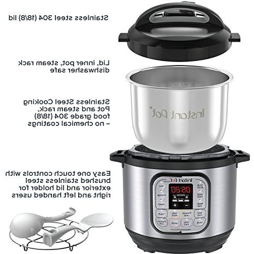 Instant Duo 3 7-in-1 Use Programmable Pressure Cooker, Rice Cooker, Rice