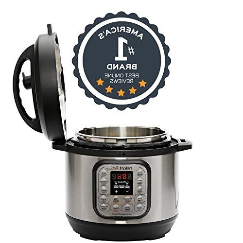 Instant 3 Qt Multi- Use Pressure Cooker, Rice Cups Rice