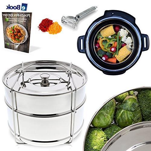 instant pot steamer insert pans