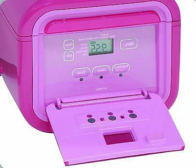 Tiger 3-Cup Micom Rice Slow Cook, Steam Cake PINK