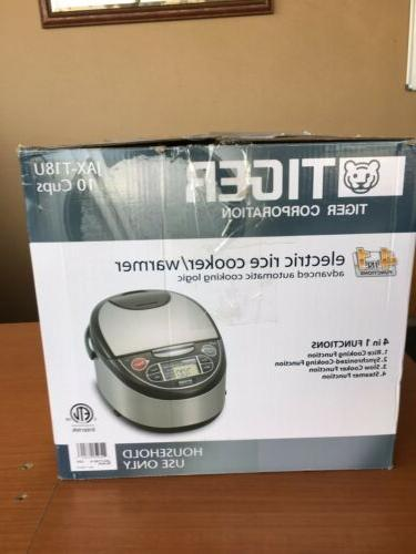 Tiger JAPAN JAX-T18U 10 cups Microcomputer Controlled Rice Cooker NEW