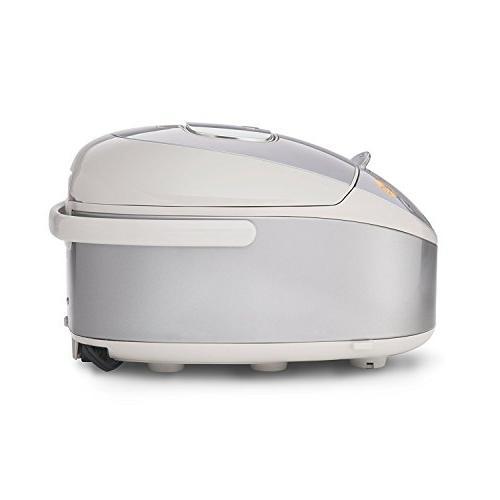 Tiger Corporation JKT-B10U Induction Heating Cooker and Warmer, Premium 5-Piece Spatula Set &
