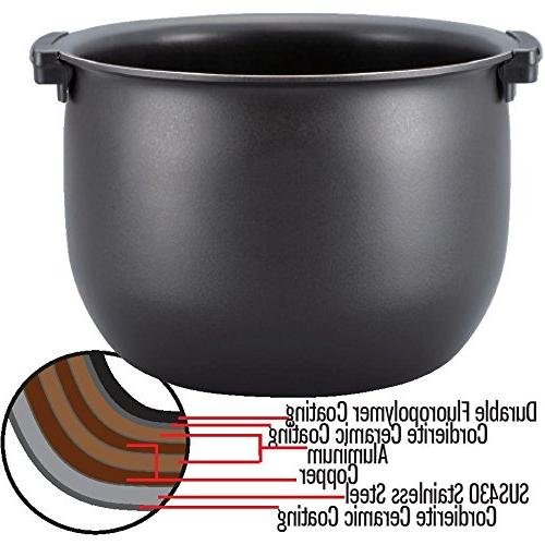 Tiger Rice Cooker Cooker and Bread Stainless