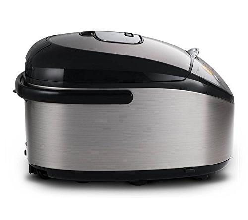 Tiger IH Rice Cooker Cooker and Stainless Steel,