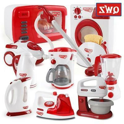 Kitchen Children Toys Vacuum Cleaner Mixer Rice Cooker