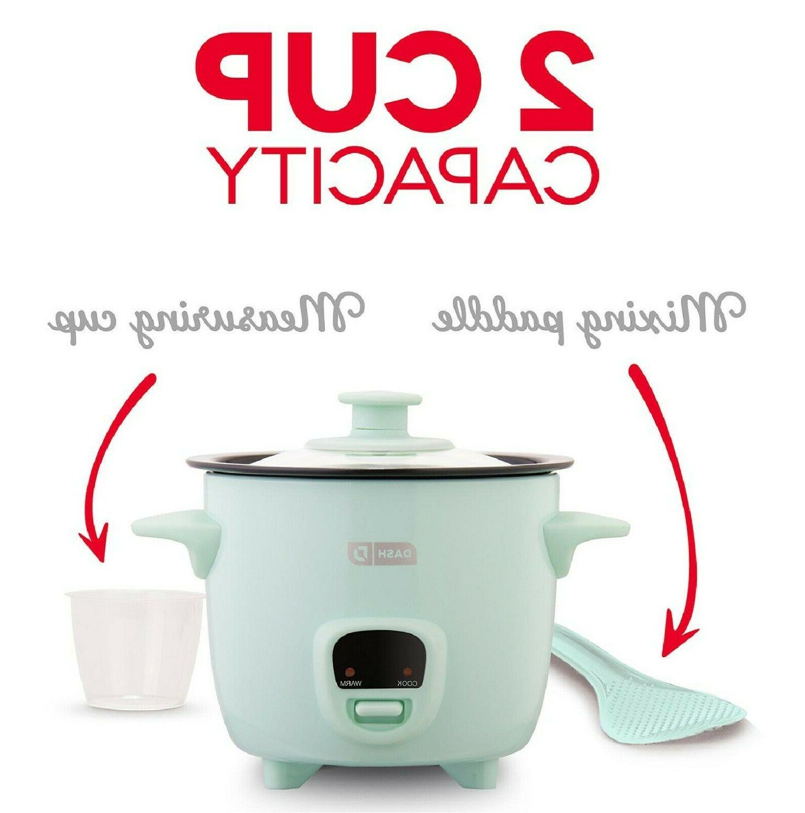 Dash 2-Cup Cooker with Warm Function