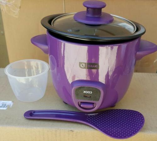 2 piece mini rice cooker drcm100pu purple