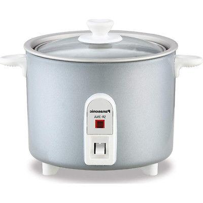 Panasonic Mini-Rice Cooker Non-Stick Pan w/ Glass Lid  1.5 c
