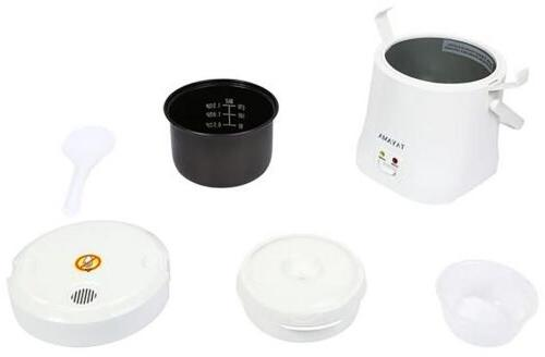 Tayama Rice Cooker and Automatic Portable White Sushi
