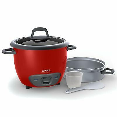 Multi-Functional Rice Steamer - Red