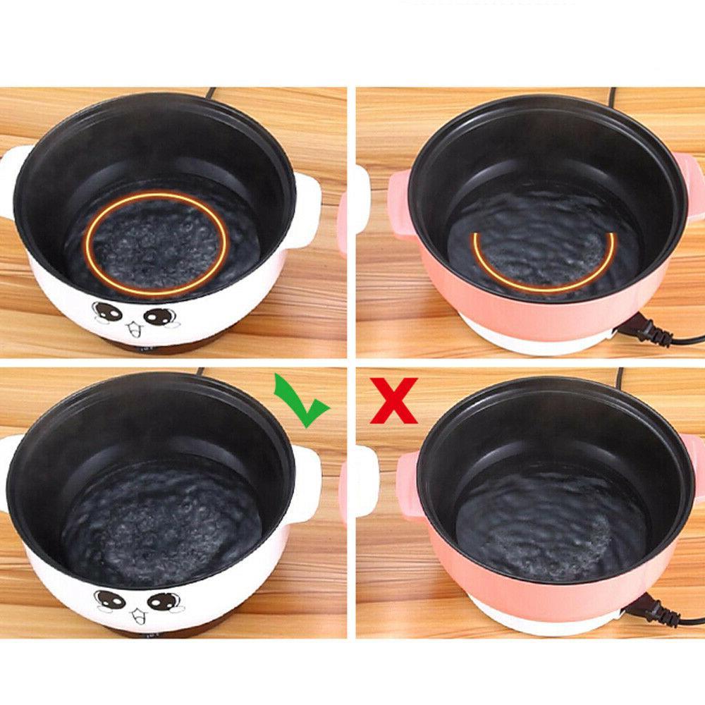 2.8L Electric Cooker Skillet Wok Hot Cook Fried Stew
