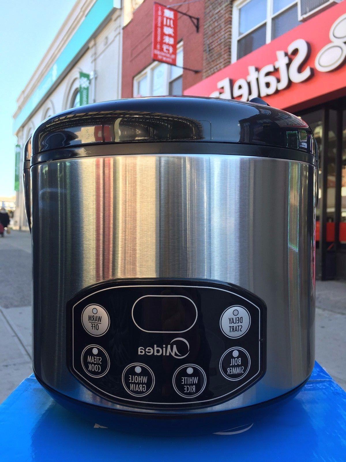 Midea Digital Stainless steel cooker 10 Cups
