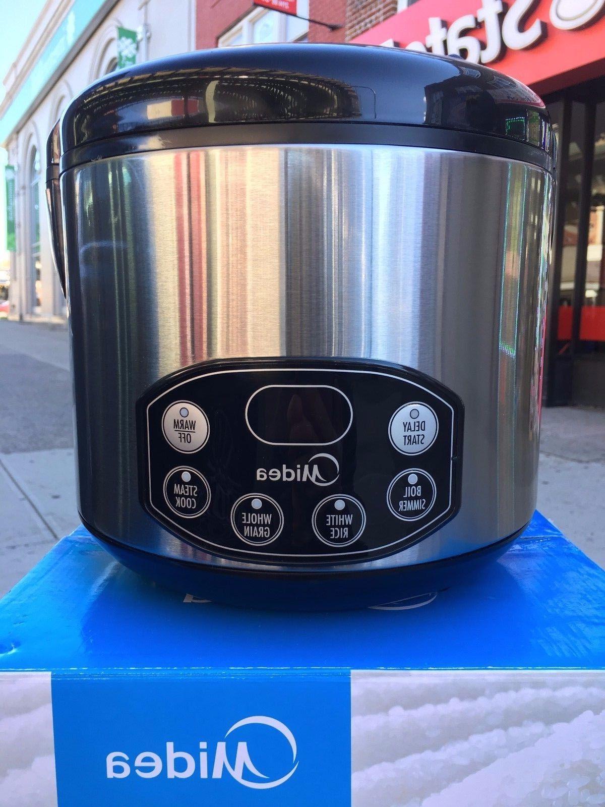 Midea Multifunction Digital Stainless steel  Rice cooker 10