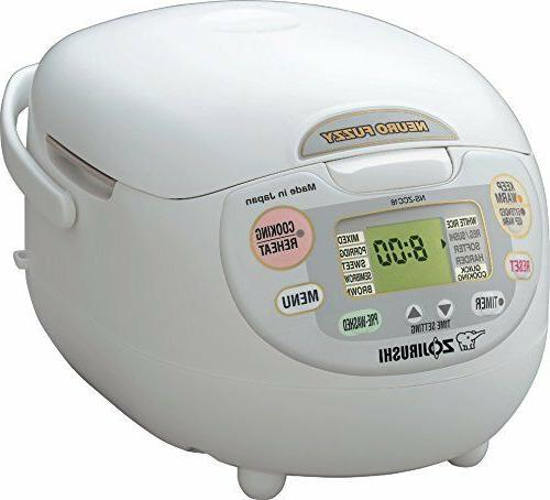 Zojirushi Neuro Fuzzy NS-ZCC18 Rice Cooker & Warmer - 1 kW -