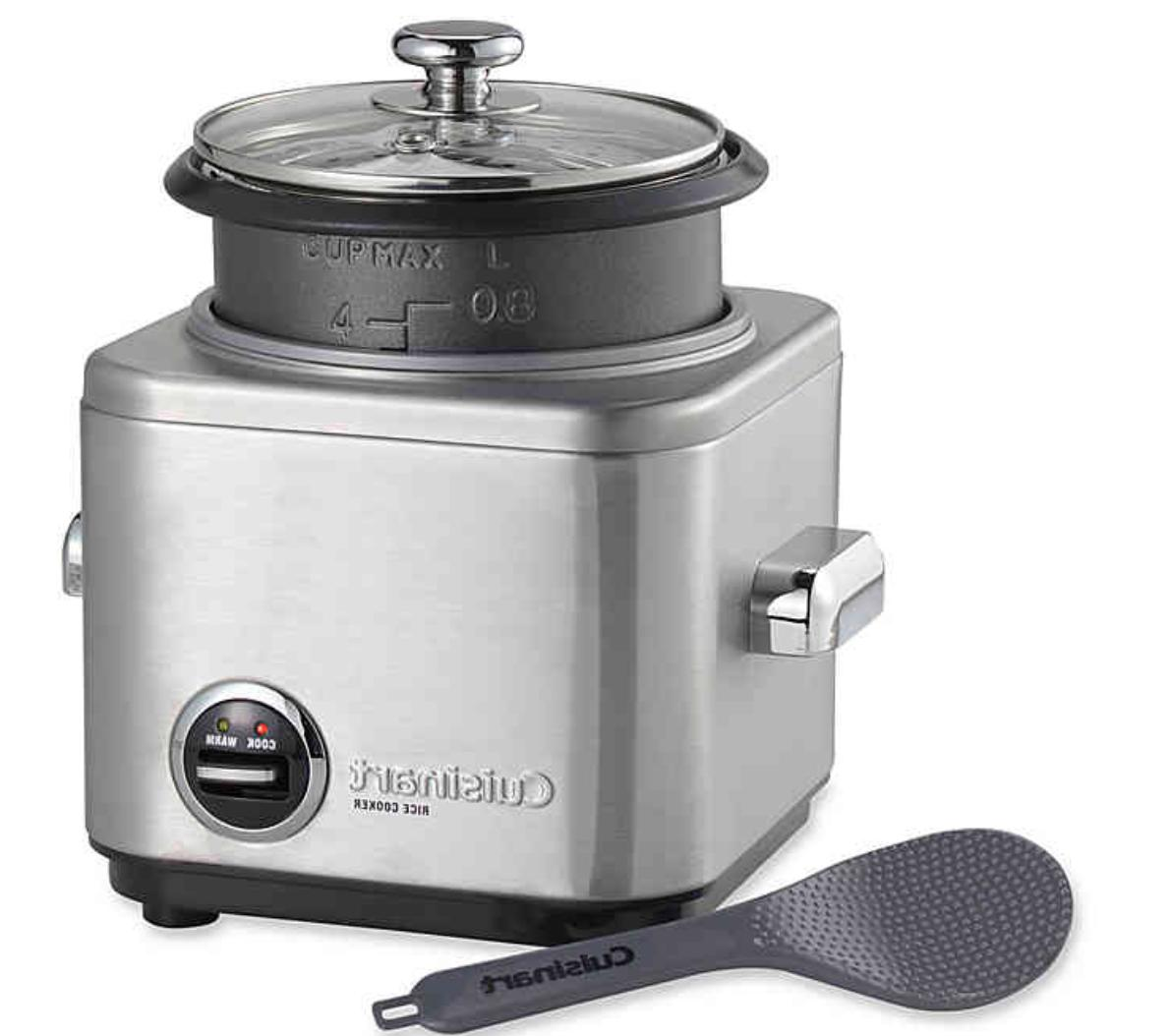 new 4 cup stainless steel rice cooker