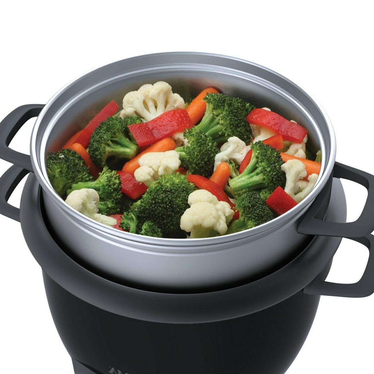 NEW! Housewares 6-Cup Pot Style Cooker ,
