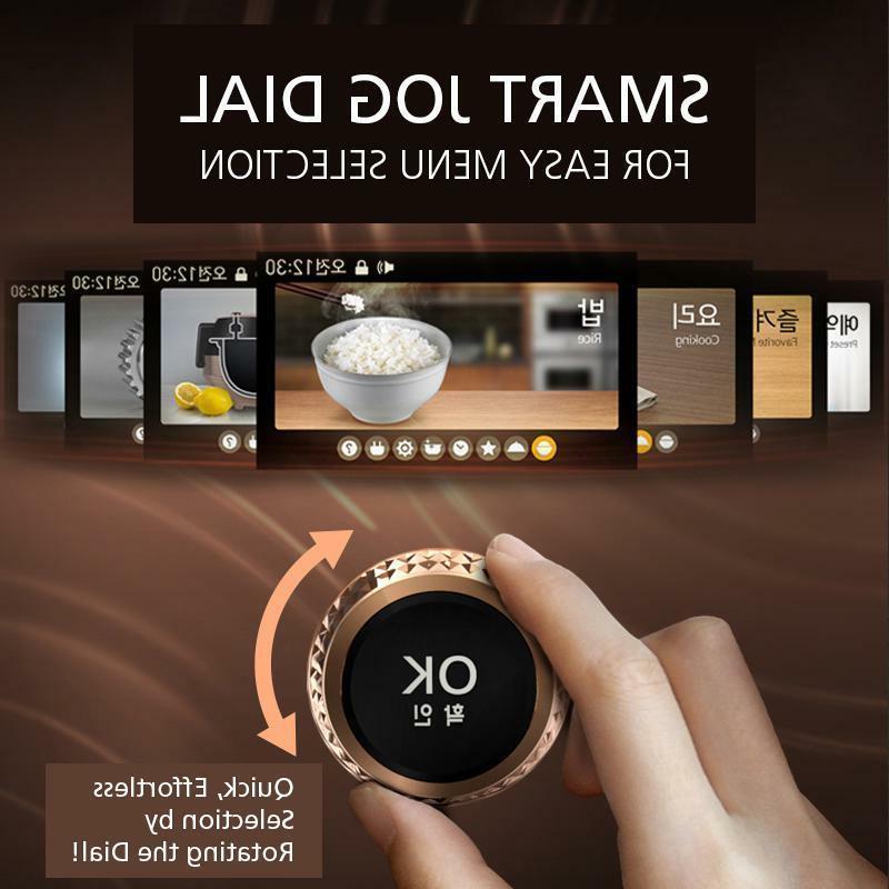 Cuchen Pressure Cooker CJH-PA1002iC 120v w Free Blender