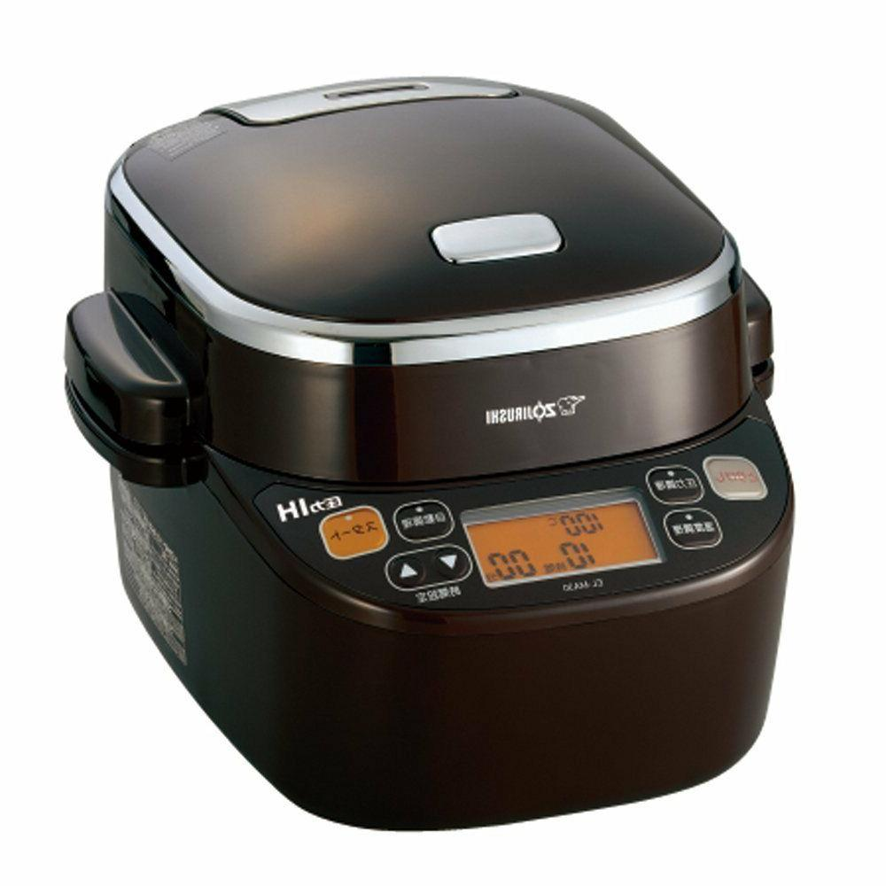 New Zojirushi EL-MA30-TA 1.5L Pressure IH Rice Cooker Brown